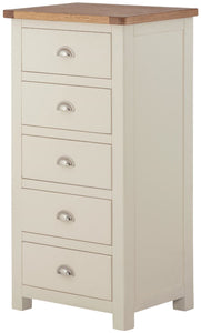 Binbrook 5 Drawer Narrow Chest - Painted