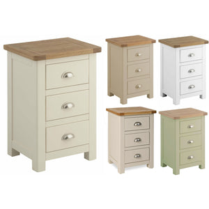 Binbrook 3 Drawer Bedside Chest - Painted