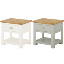 Load image into Gallery viewer, Binbrook Lamp Table with Drawer - Painted