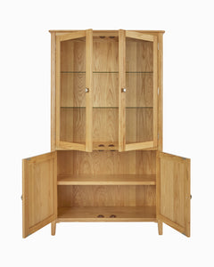 Bloxholm Display Cabinet - Oak