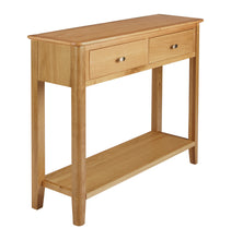 Load image into Gallery viewer, Bloxholm Console Table - Oak