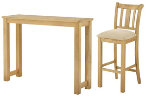 Binbrook Oak Bar Table & Bar Stool