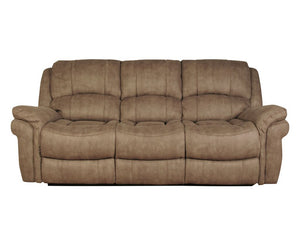 Fulstow 3 Seat Reclining Sofa - Faux Leather or Fabric