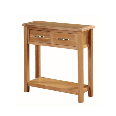 Burwell Large Hall Table - City Oak