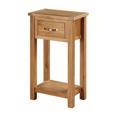 Burwell Medium Hall Table - City Oak