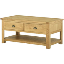 Load image into Gallery viewer, Binbrook Coffee Table with Drawers - Oak
