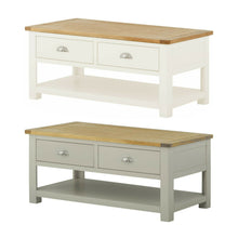 Load image into Gallery viewer, Binbrook Coffee Table with Drawers - Painted