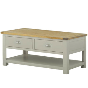 Binbrook Coffee Table with Drawers - Painted