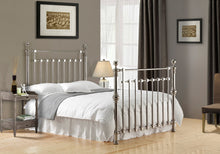 Load image into Gallery viewer, Edward Chrome Nickel Bed Frame