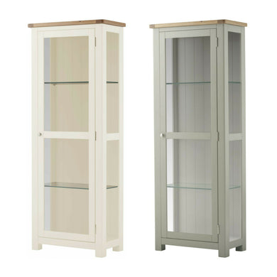 Binbrook Glazed Display Cabinet - Painted