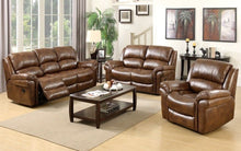 Load image into Gallery viewer, Fulstow 3 Seat Reclining Sofa - Faux Leather or Fabric