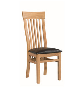 Tealby Ladder Back Dining Chair - Oak
