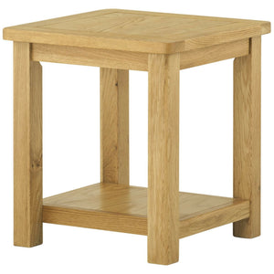 Binbrook Lamp Table - Oak