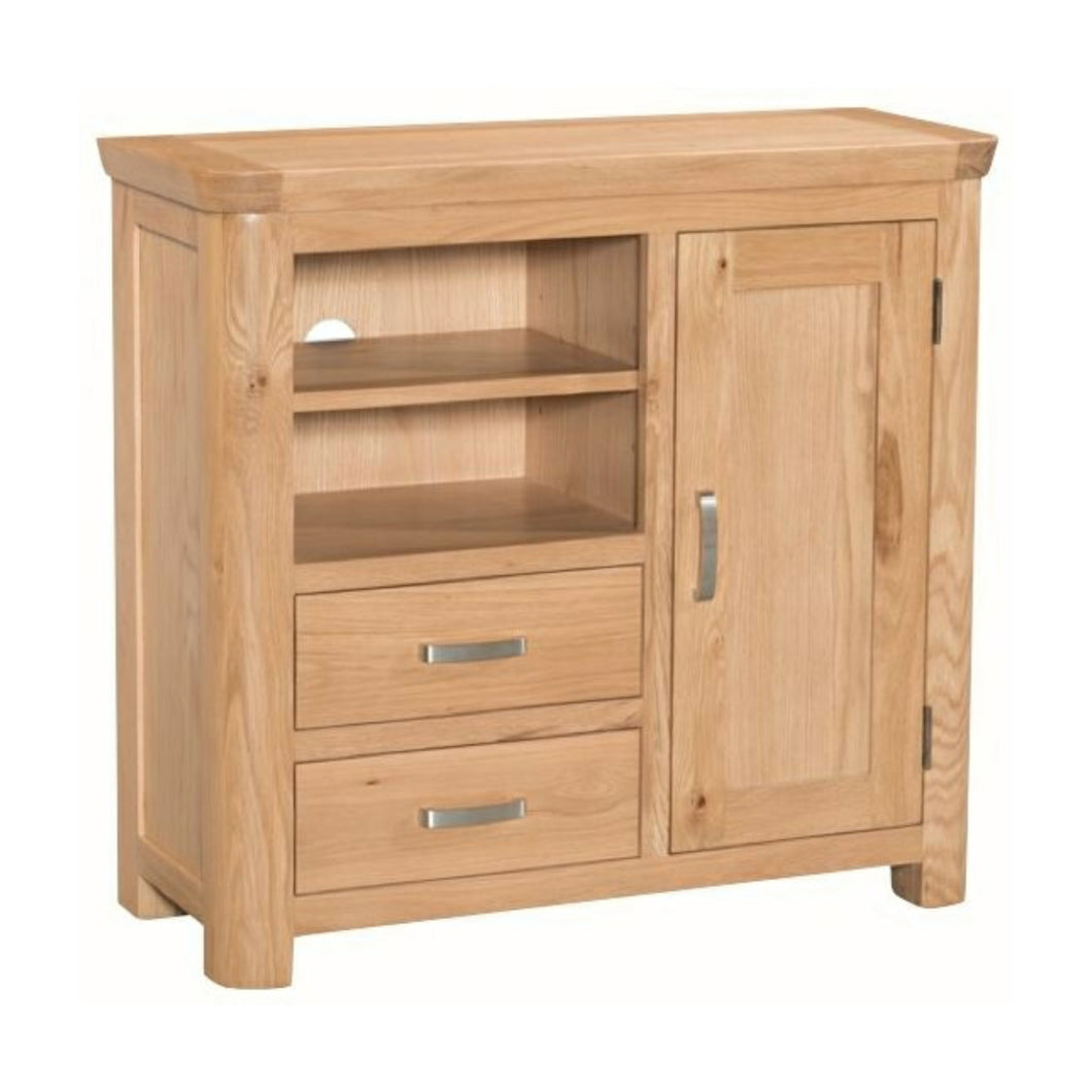 Tealby Media Unit - Oak