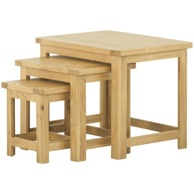 Binbrook Nest of Tables - Oak