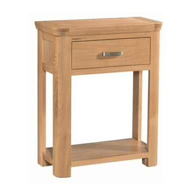 Tealby Small Console Table - Oak