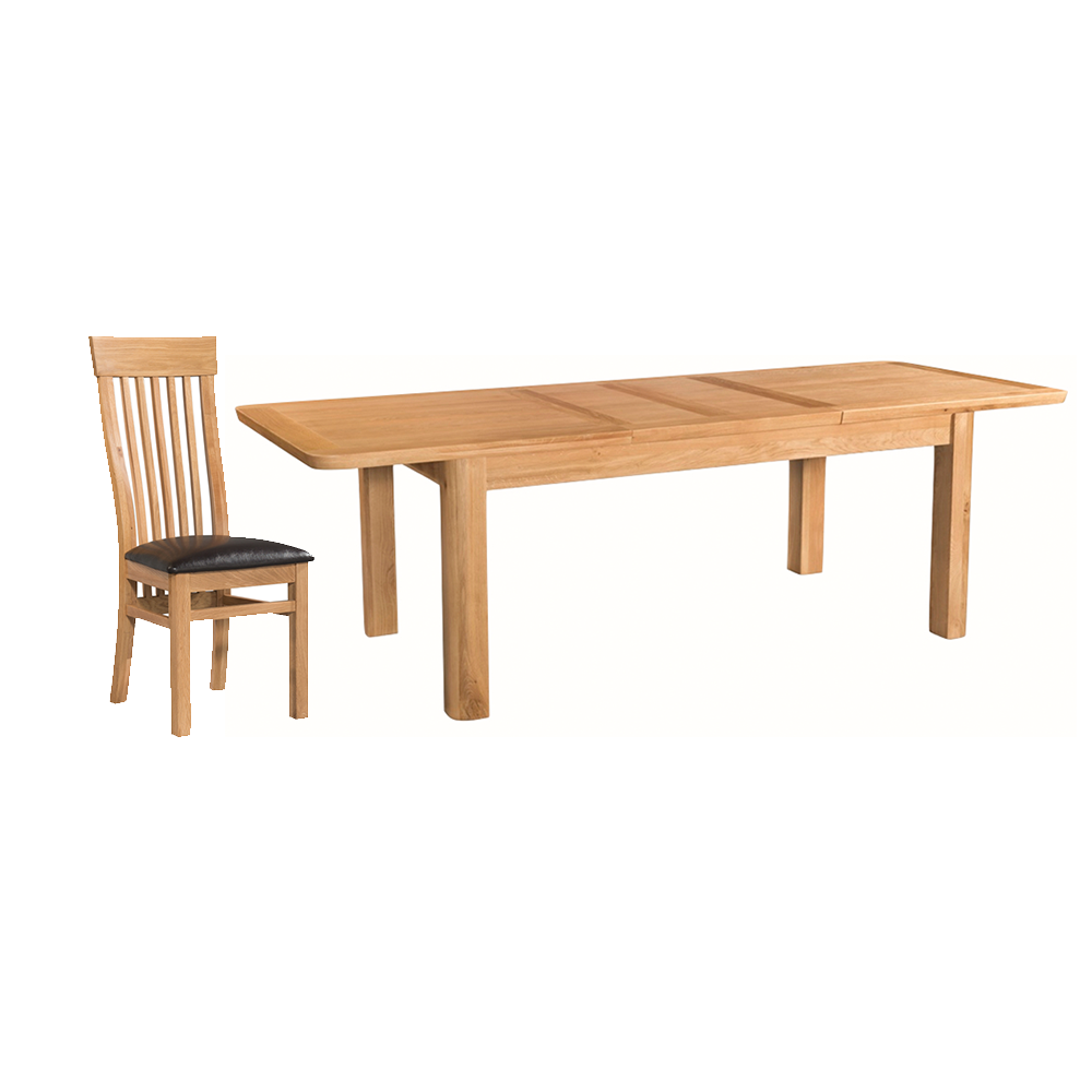 Tealby 6ft Extending Dining Set - Oak