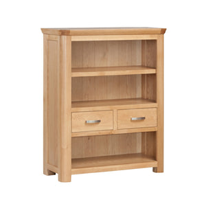 Tealby Low Bookcase - Oak