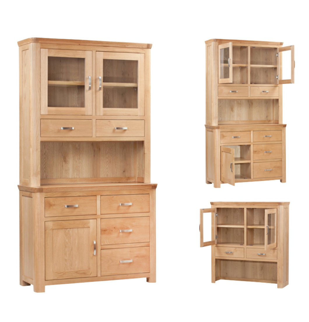 Tealby Two Drawer Wide Dresser - Oak