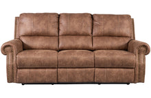 Load image into Gallery viewer, Timberland Reclining Three Seat Sofa - Tan