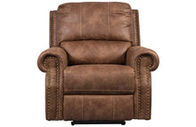 Load image into Gallery viewer, Timberland Reclining Chair - Faux Leather
