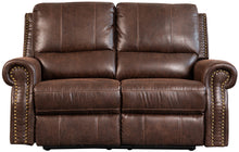 Load image into Gallery viewer, Timberland 2 Seat Reclining Sofa - Faux Leather