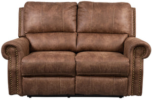 Timberland 2 Seat Reclining Sofa - Faux Leather