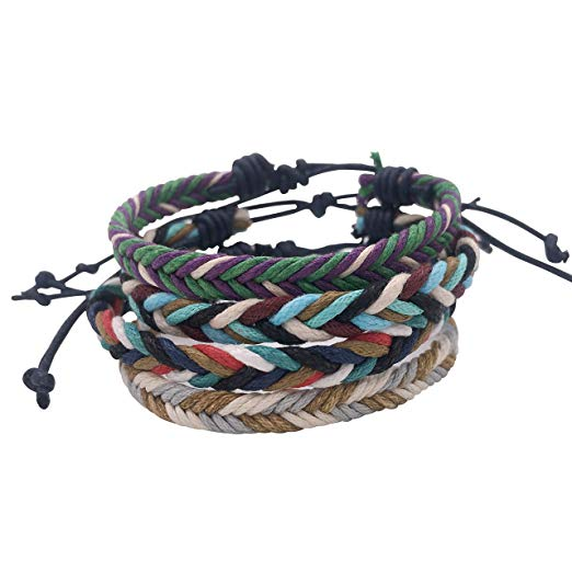 12 Pack Braided Friendship Bracelet Handmade for Teens Girls Boys