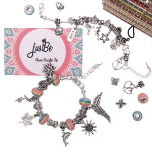 Charm Bracelet Making Kit - Jewelry Gift Set For Girls