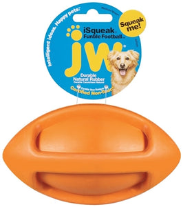 JW Pet ISqueak Funble Football