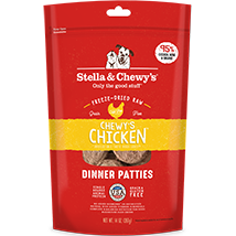 Stella and Chewy's Chicken Freeze-Dried Dinner Patties
