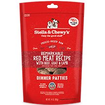 Stella and Chewy's Remarkable Red Meat Freeze-Dried Dinner Patties