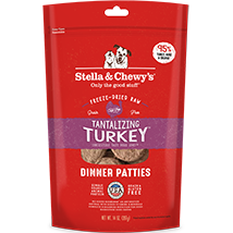 Stella and Chewy's Tantalizing Turkey Freeze-Dried Dinner Patties