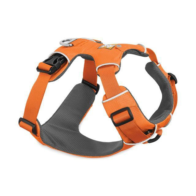 RUFFWEAR Front Range Harness  Orange Poppy Medium
