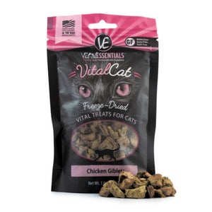 Vital Essentials Cat Chicken Giblets Freeze-Dried Treats