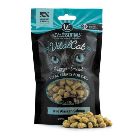 Vital Essentials Cat  Wild Alaskan Salmon Freeze-Dried Treats