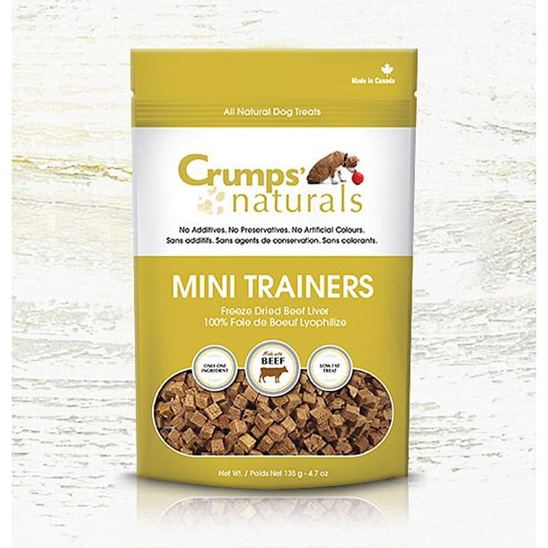 Crumps' Naturals Freeze Dried Beef Liver Mini Trainers