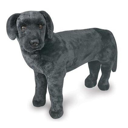 Melissa and Doug Black Lab Plush