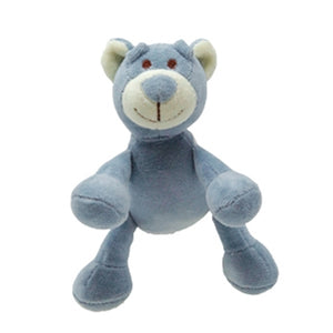 "Beginnings Wally 4"" Blue Bear"