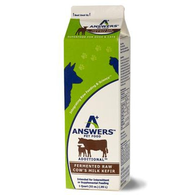 Answers Cow's Milk Kefir