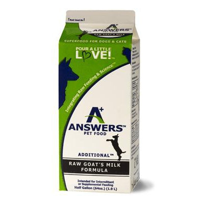 Answers Goats Milk
