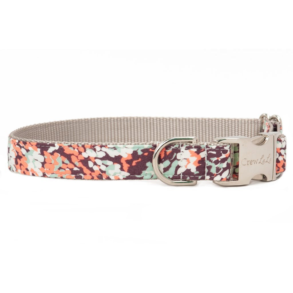 Crew LaLa Autumn Leaves Dog Collar