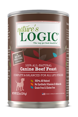 Nature's Logic Canine Beef Feast