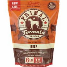 Load image into Gallery viewer, Primal Pet Foods Raw Frozen Patties Canine Beef Formula 6 Pound