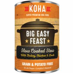 KOHA Big Easy Feast Slow Cooked Stew with Turkey, Chicken and Duck