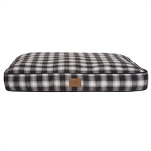 Load image into Gallery viewer, Carolina Pet Company CHARCOAL OMBRE PLAID PET NAPPER