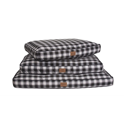 Carolina Pet Company CHARCOAL OMBRE PLAID PET NAPPER
