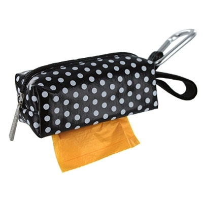 digPETS Duffel - Black Dot w/1 Roll