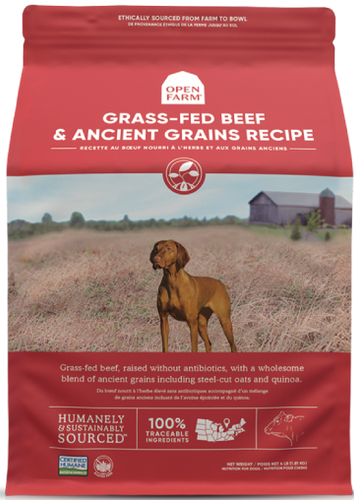 Open Farm Grass-Fed Beef & Ancient Grains