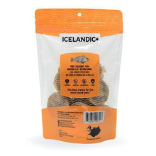 Load image into Gallery viewer, Icelandic+ Redfish Skin Rolls Dog Treat 3-oz Bag